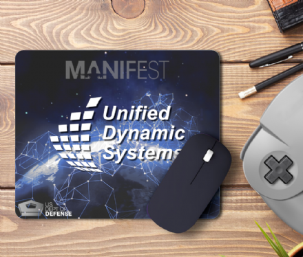 Unified Dynamics Systems PC Computer Laptop Mouse Mat Pad from Manifest